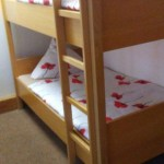 """bunk bed in """"kids"""" room"""